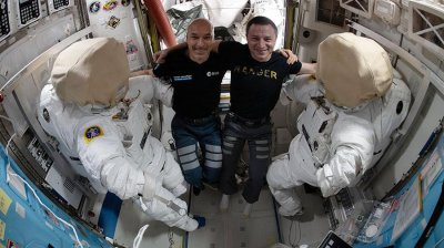 Watch live: Astronauts start spacewalk for Alpha Magnetic Spectrometer repairs