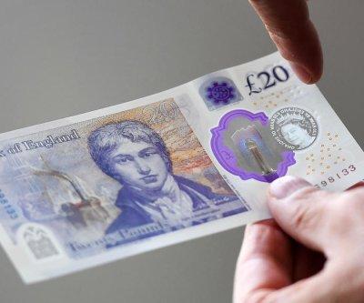 New £20 bills enter circulation in Britain