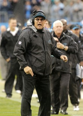 Panthers sign Coach Ron Rivera to 3-year extension