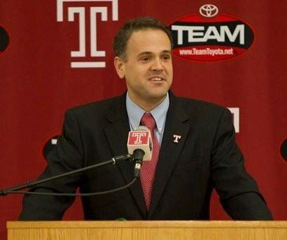Baylor names Temple's Matt Rhule as coach in wake of player sex assault scandal