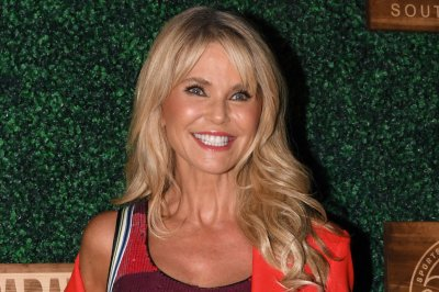 Christie Brinkley attends Sports Illustrated swimsuit show