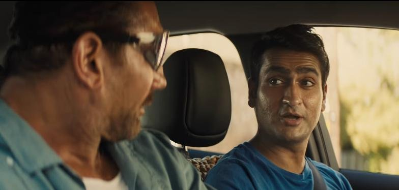 Office Christmas Party Uber Driver.Watch Dave Bautista Recruits Uber Driver Kumail Nanjiani In