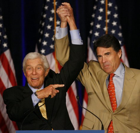 Rick Perry: Evolution a theory 'out there'