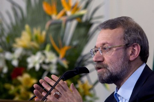 Larijani: West won't stop Iran nuke effort