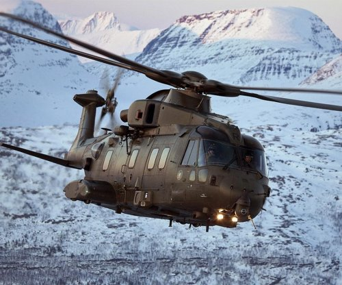 Italian AF introduces new HH-101A Caesar helicopter
