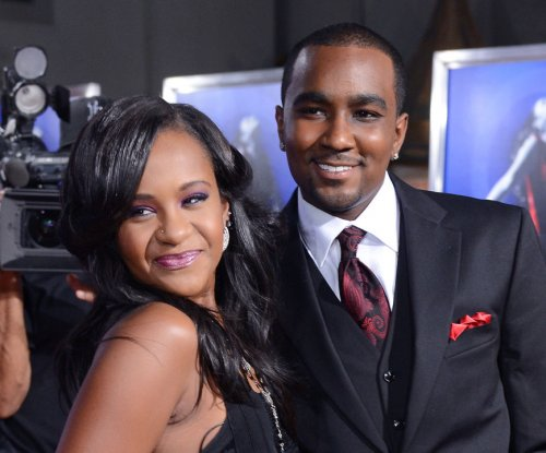 Nick Gordon visits Bobbi Kristina Brown's grave