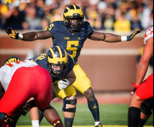 Michigan's Peppers popped for failed drug test at NFL combine