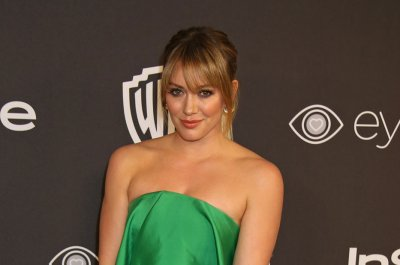 Hilary Duff's son blows her kiss while water tubing in new video