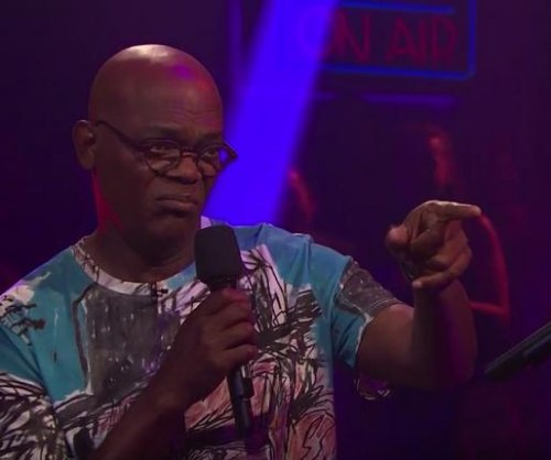 Samuel L. Jackson, James Corden have Drop the Mic battle on 'Late Late Show'