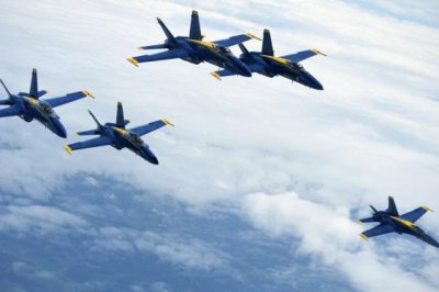 Boeing tapped to upgrade F/A-18s for Blue Angels