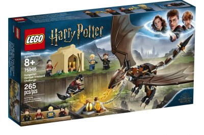 New 'Harry Potter' Lego sets featuring Triwizard Tournament, Hagrid's Hut announced