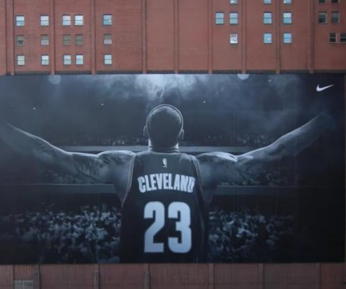 LeBron James thanks Sherwin-Williams for keeping banner, donation