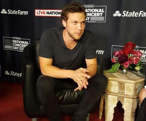 Phillip Phillips on touring: 'I hope to be doing this for the rest of my life'