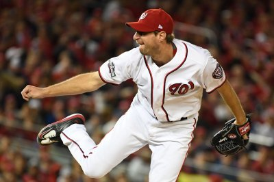 Max Scherzer's complete game helps Washington Nationals sweep San Francisco Giants