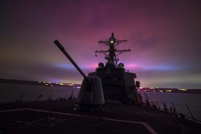 U.S. Navy sends two missile-guided Destroyers to Black Sea