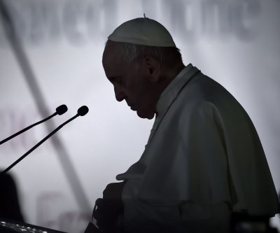 Pope calls for peace during ecumenical event