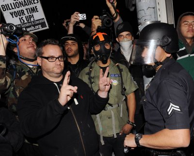 Chief: LAPD Occupy tactics show strength