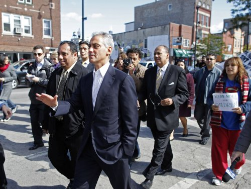 Rahm Emanuel kicks off mayoral campaign