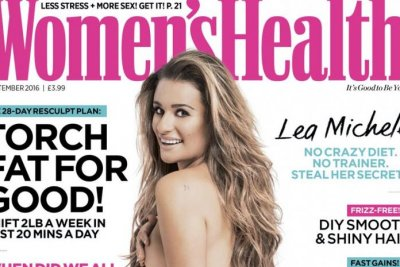 Lea Michele reveals 'Finn' tattoo in nude photo shoot