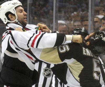 NHL enforcer, unlikely All-Star John Scott retires