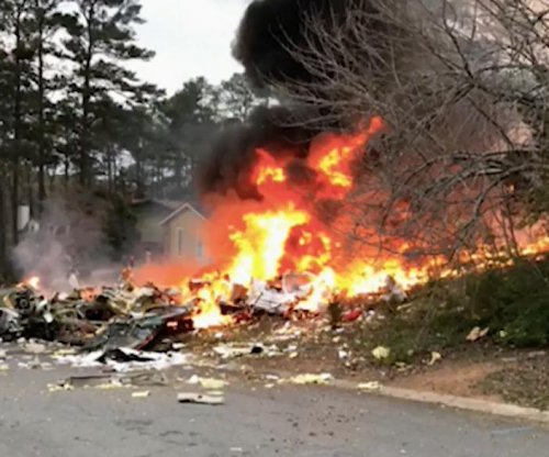 Plane crashes in Georgia neighborhood, killing pilot