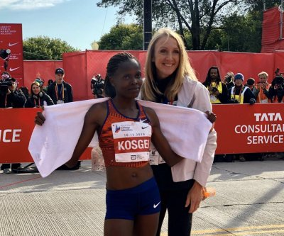 Kenya's Brigid Kosegi sets women's marathon world record in Chicago