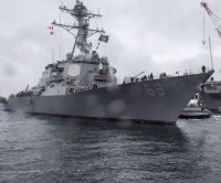USS Milius completes sea trials after 12-month repair period