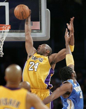 NBA: LA Lakers 103, Denver 94