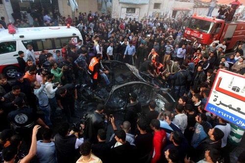 Israeli assault in Gaza kills Hamas leader