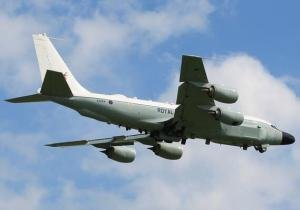 RAF flies its newly acquired Joint Rivet KC-135W