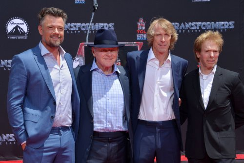 Michael Bay honored with Hollywood hand- and foot-print ceremony