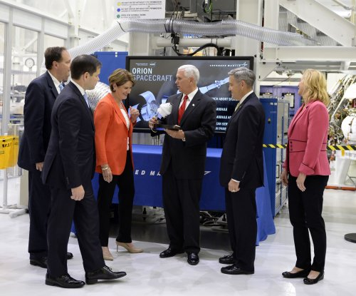 Pence says Rubio dared him to touch off-limits piece of Orion spacecraft
