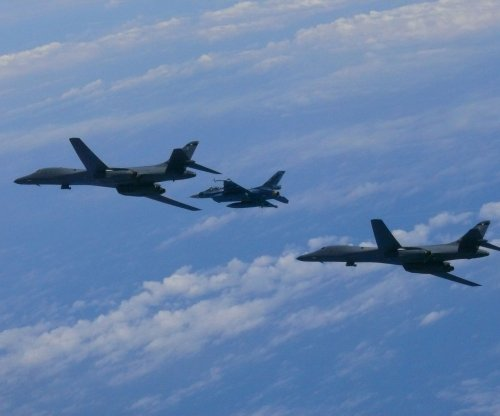 U.S. B1-B bombers fly mission off North Korean coast