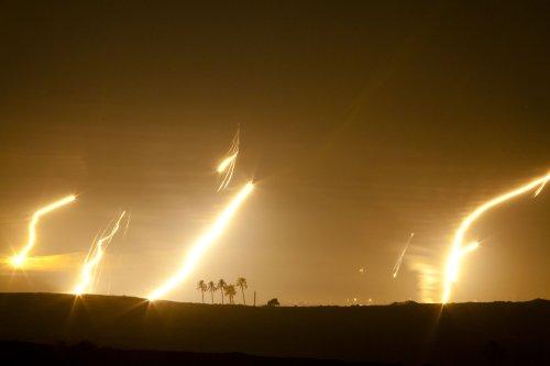 Rocket fire intensifies in Gaza