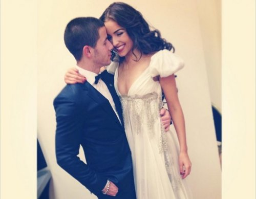 Oliva Culpo joined by Nick Jonas at Miss Universe