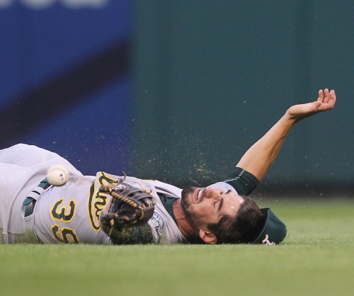 Two-run eighth sends Oakland Athletics past St. Louis Cardinals