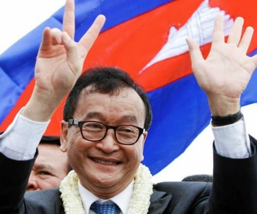 Cambodian opposition leader Sam Rainsy resigns