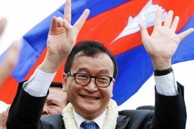 Cambodian opposition leader Sam Rainsy resigns