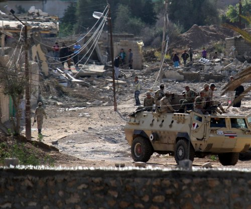 Ten Egyptian soldiers killed in Sinai