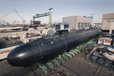 Delaware submarine nears delivery to U.S. Navy as first meals served