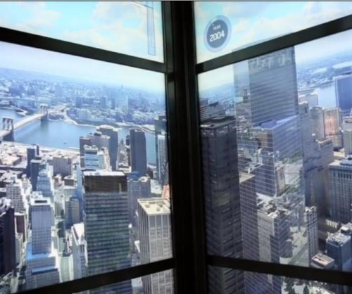 One World Trade Center elevator shows New York's history