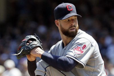 Corey Kluber pitches Cleveland Indians past Los Angeles Angels