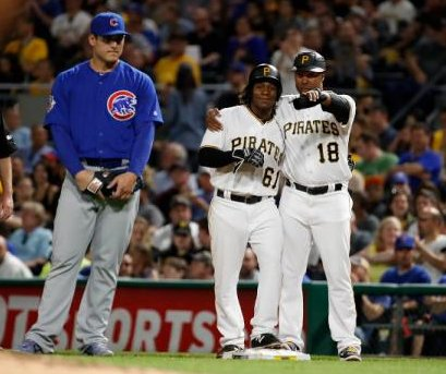 Gift Ngoepe steals show as Pittsburgh Pirates hang on to beat Chicago Cubs