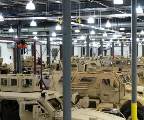 BAE Systems upgrades C4I system on 5,000th MRAP