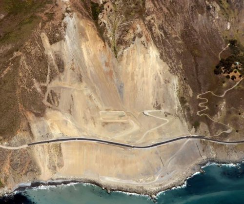 California Highway 1 re-opens after May 2017 landslide