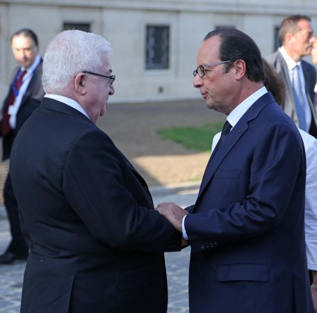 Iraq conference under way in France as leaders confront Islamic State threat