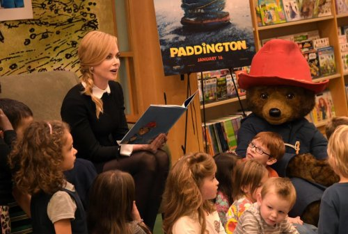 Nicole Kidman reads Paddington Bear tale to children in Tennessee