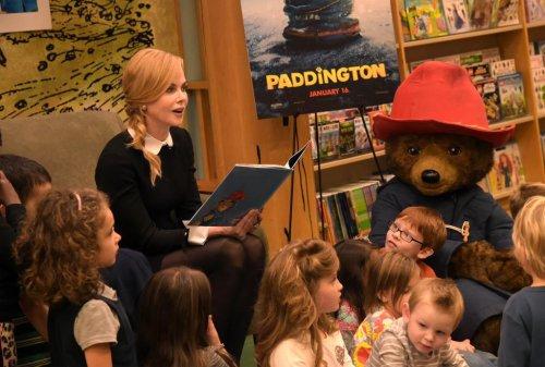 Nicole Kidman reads Paddington Bear tale to children in Tennessee
