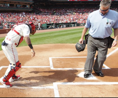 St. Louis Cardinals' Yadier Molina will miss remainder of regular season