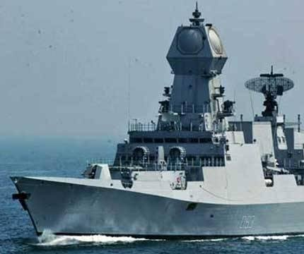India commissions guided missile destroyer